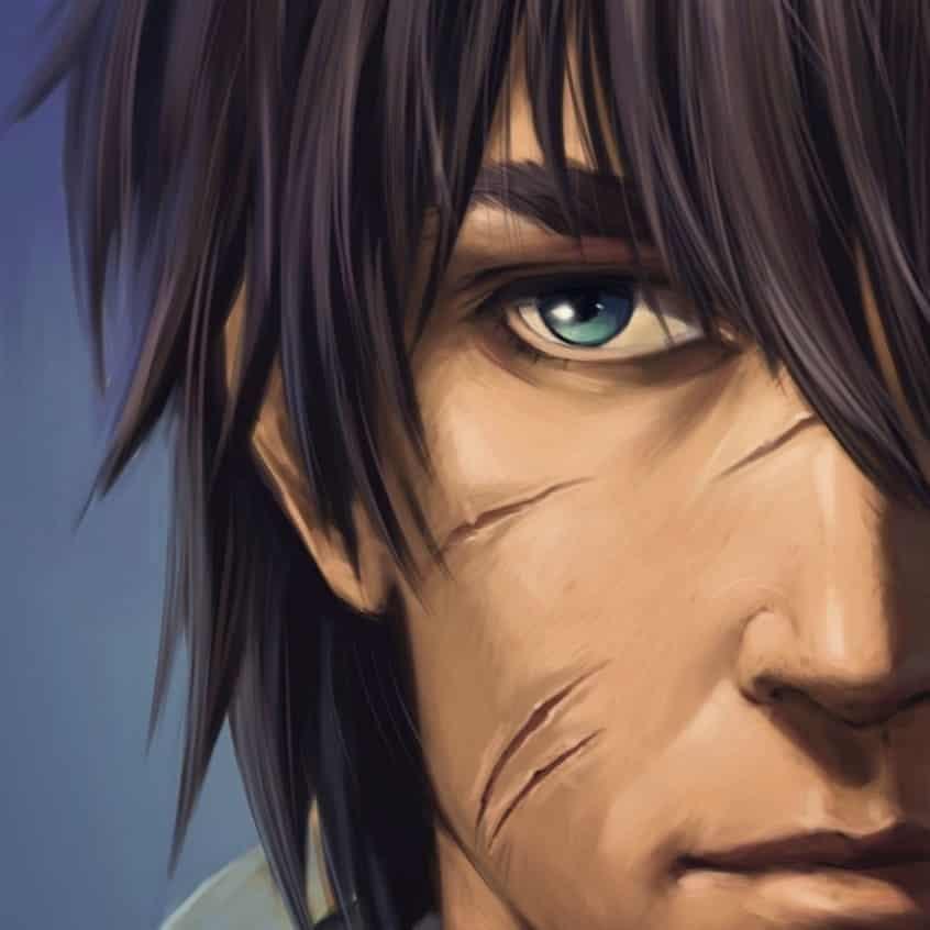 NOE (light version with details) Illust of Renola MyArt boy digitalcharacter realism mycharacter originacharacter