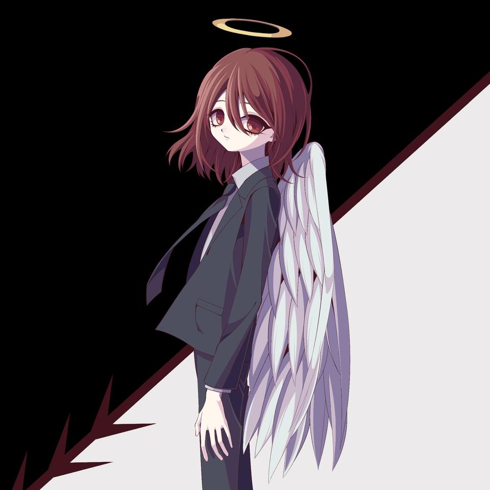天使君 Illust of 四ノ未まぐ ChainsawMan 天使の悪魔
