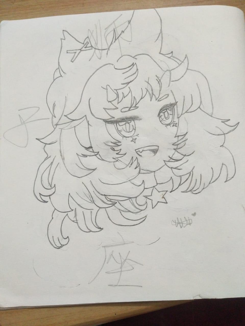 狮子座女孩✨ Illust of ꕥ᭄不亏不欠丫ꦿঞ February2021_Fantasy girl anime ꕥ᭄不亏不欠丫ꦿঞ AnalogDrawing