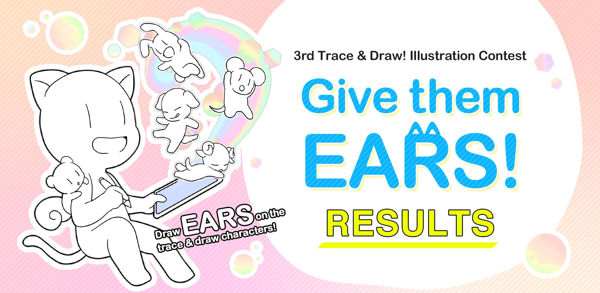 3rd Trace & Draw! Illustration Contest Results | Contest - ART street by MediBang