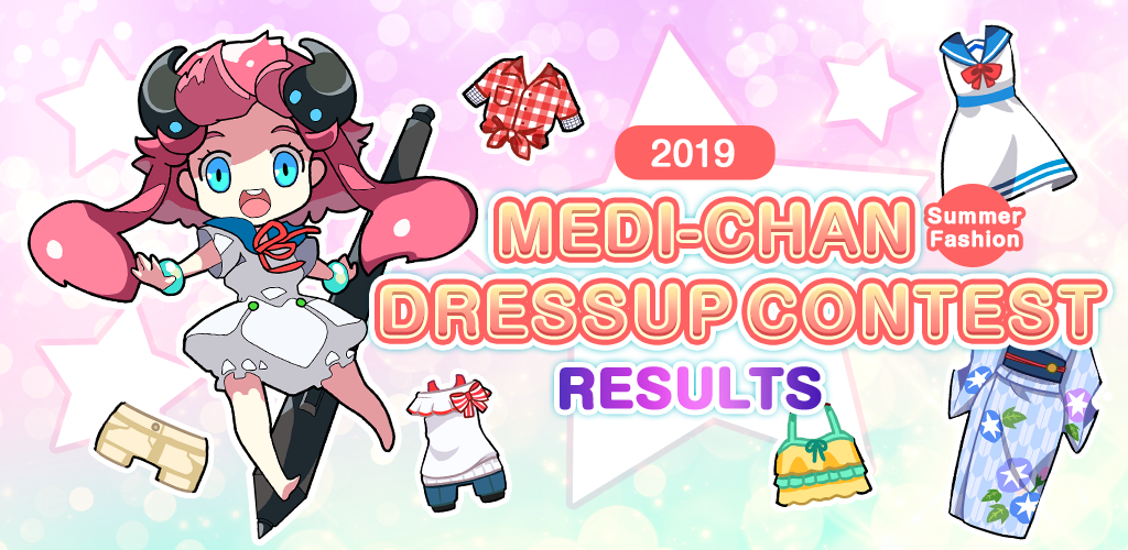 2019 Medi-Chan Summer Fashion Dressup Contest Results|Contest - ART street by MediBang