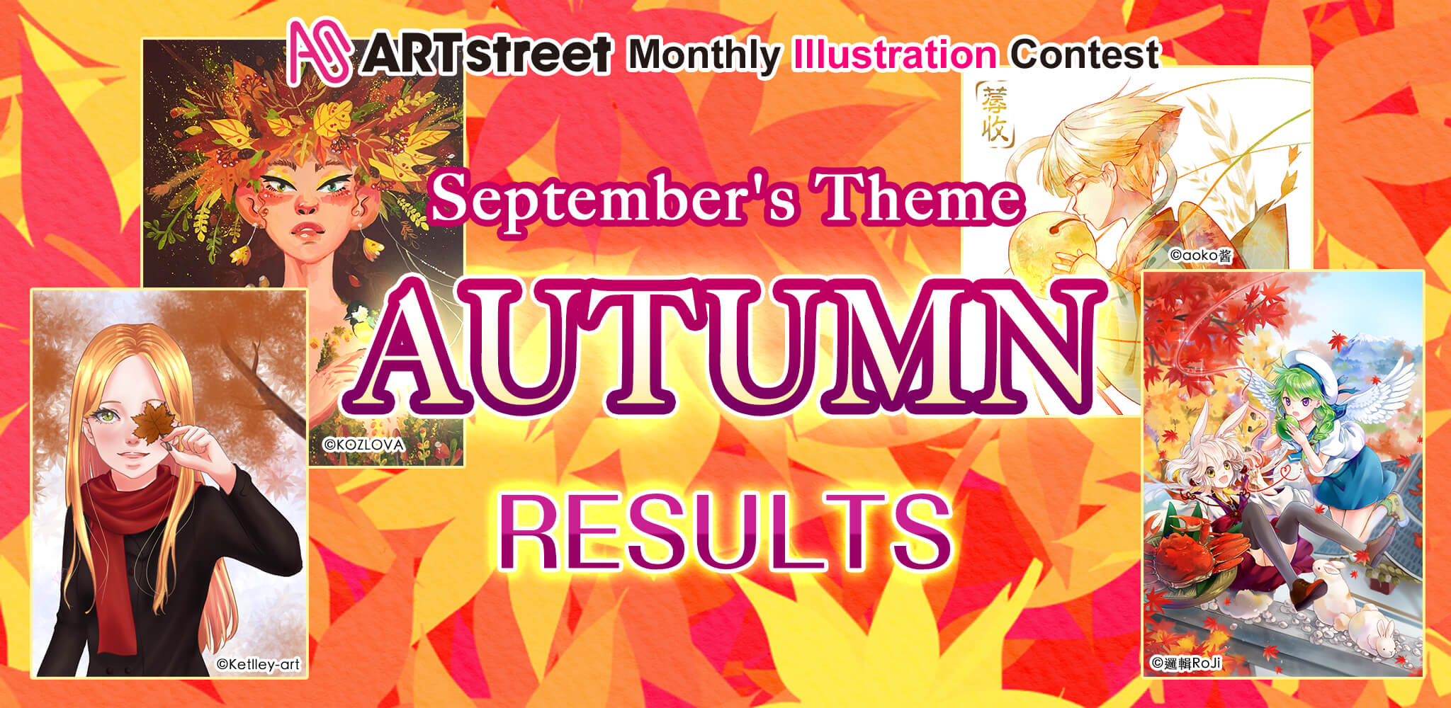 ART street Monthly Illustration Contest Sep. 2019 Results | Contest - Art Street (ART street) by MediBang
