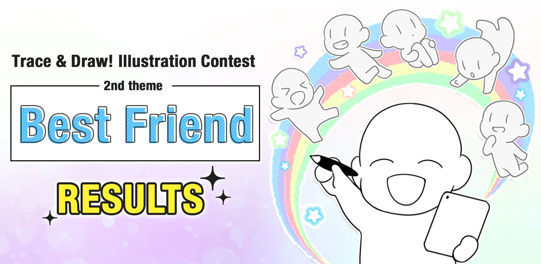 2nd Trace & Draw! Illustration Contest Results | Contest - ART street by MediBang
