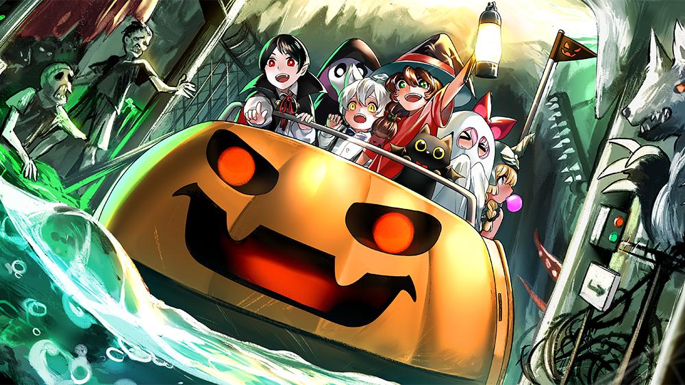 Halloween Illustrations Art Street Social Networking Site For Posting Illustrations And Manga