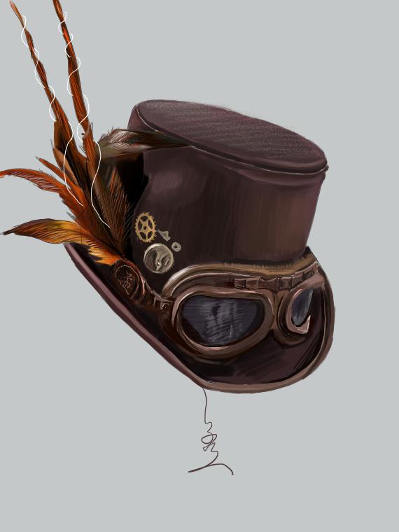 Illust of 今天非常帅的昭瑞 medibangpaint 帽子 steampunk