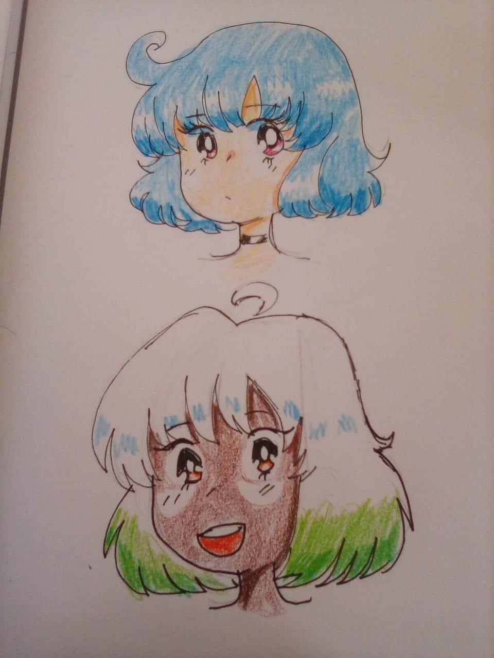 90's anime style  Illust of ali-chi | Alus uwu (Fundy Mode) challenge 90sanimestyle