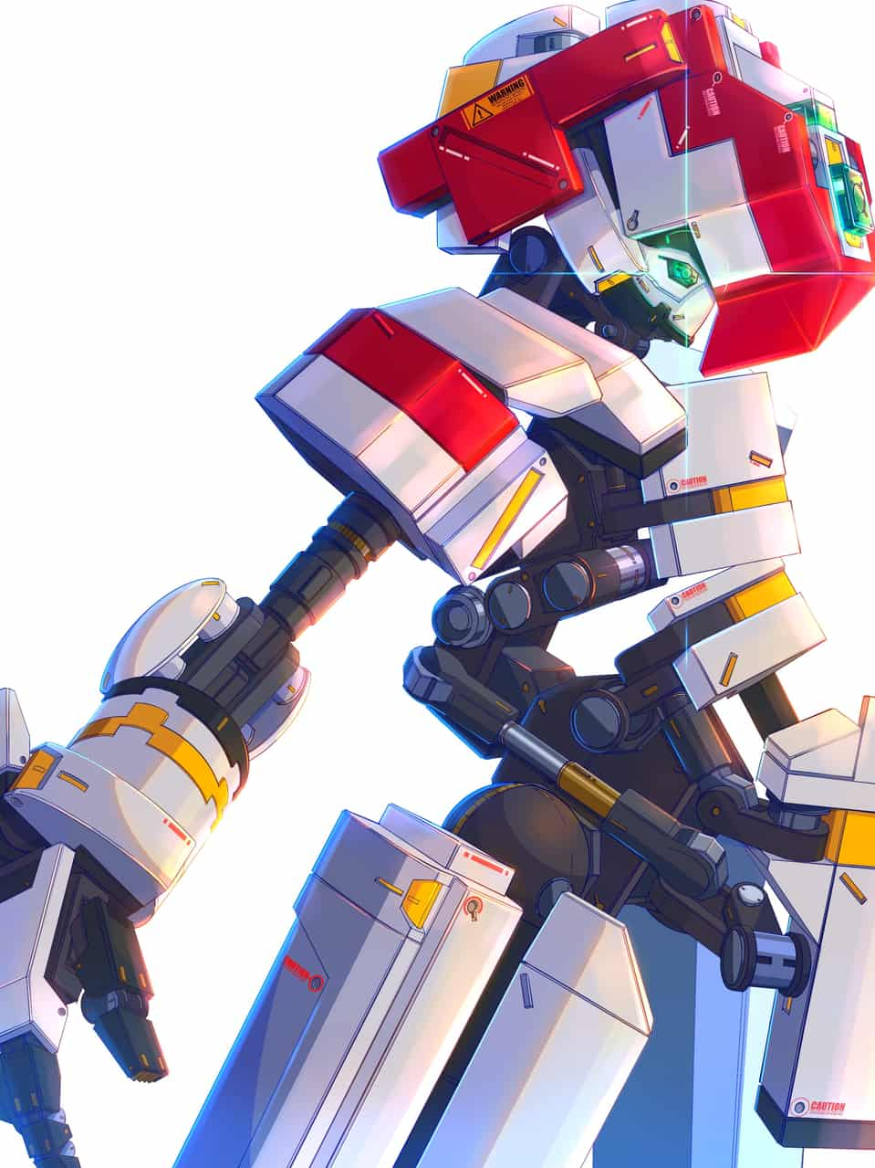 13/01/2020 Illust of nica LEGO メカ ロボット