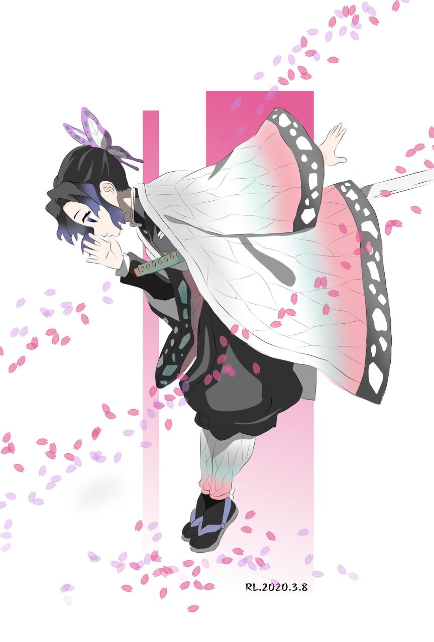 Illust of _若璃_ medibangpaint KochouShinobu KimetsunoYaiba
