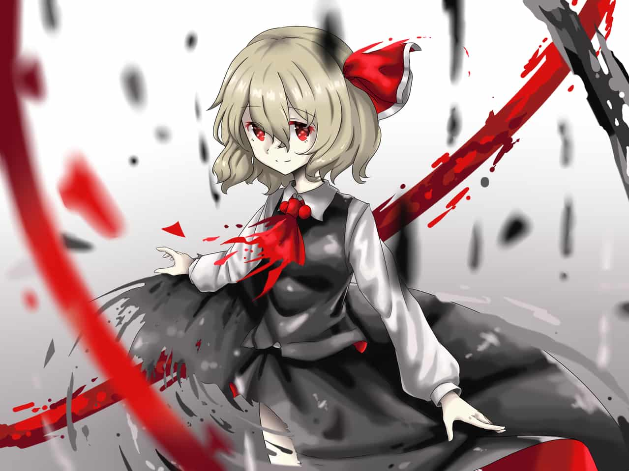 Illust of T-hou Touhou_Project ルーミア