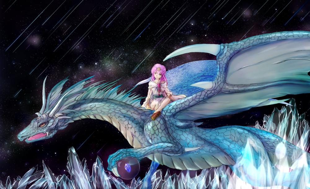 ドラゴンと彼方へ Illust of Hikaru Meguriya 3rdMCPOillustration illustration