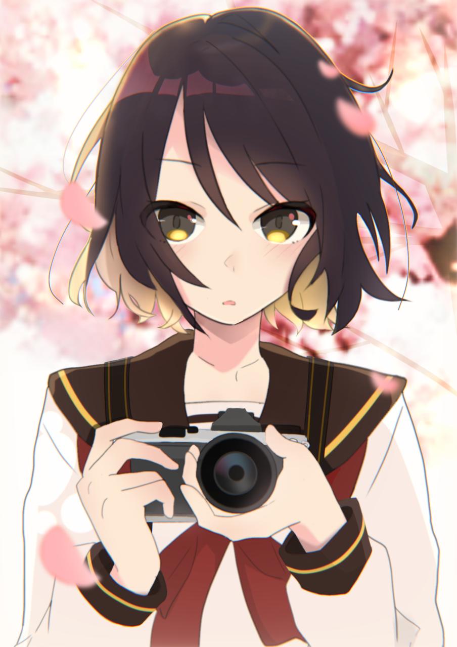 感動の一枚 Illust of 祐まる Original_Illustration_Contest girl sakura