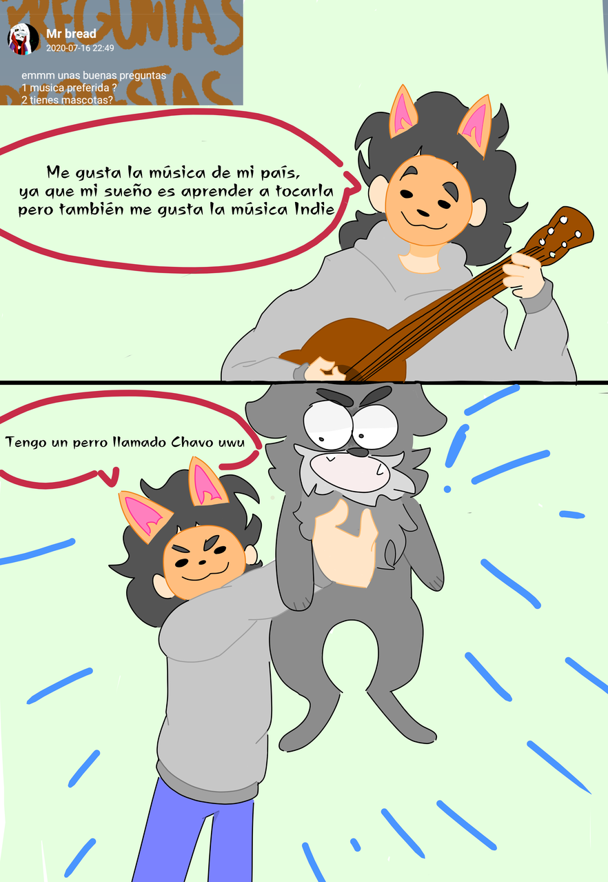Respuestas a Mr Bread; parte1 Illust of Canguro feliz :v medibangpaint Mrbread Preguntasyrespuestas