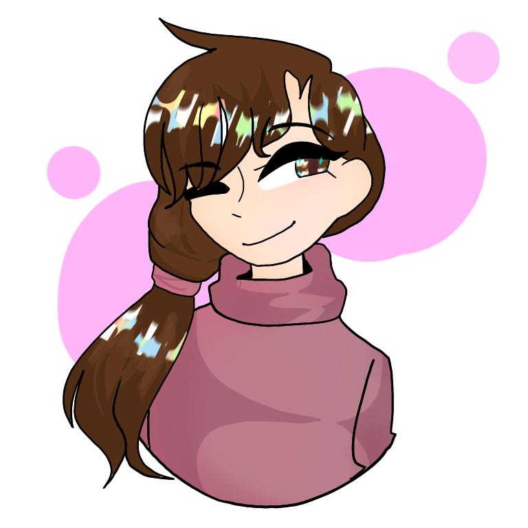 Anime style attempt? Illust of DreamiiKuri | Drèam mode©️ anime drawing animegirl cute pink Brown red
