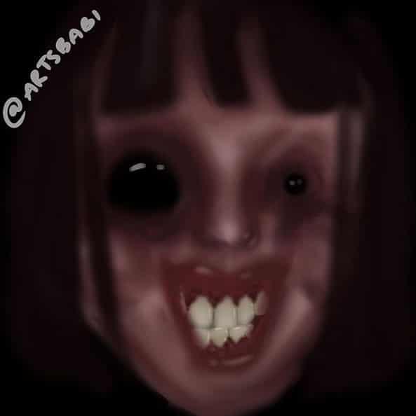 My sleep paralysis demon Illust of artsibabi horror August2020_Contest:Horror gothic Nightmare