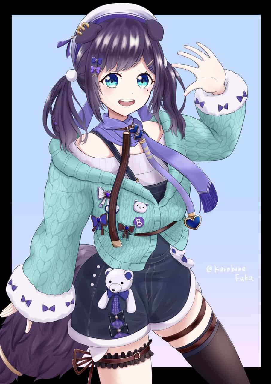 相羽ういは Illust of Dari(Kurobane_Fuka) kawaii アイドル 相羽ういは virtual_YouTuber girl ういはぁーと にじさんじ