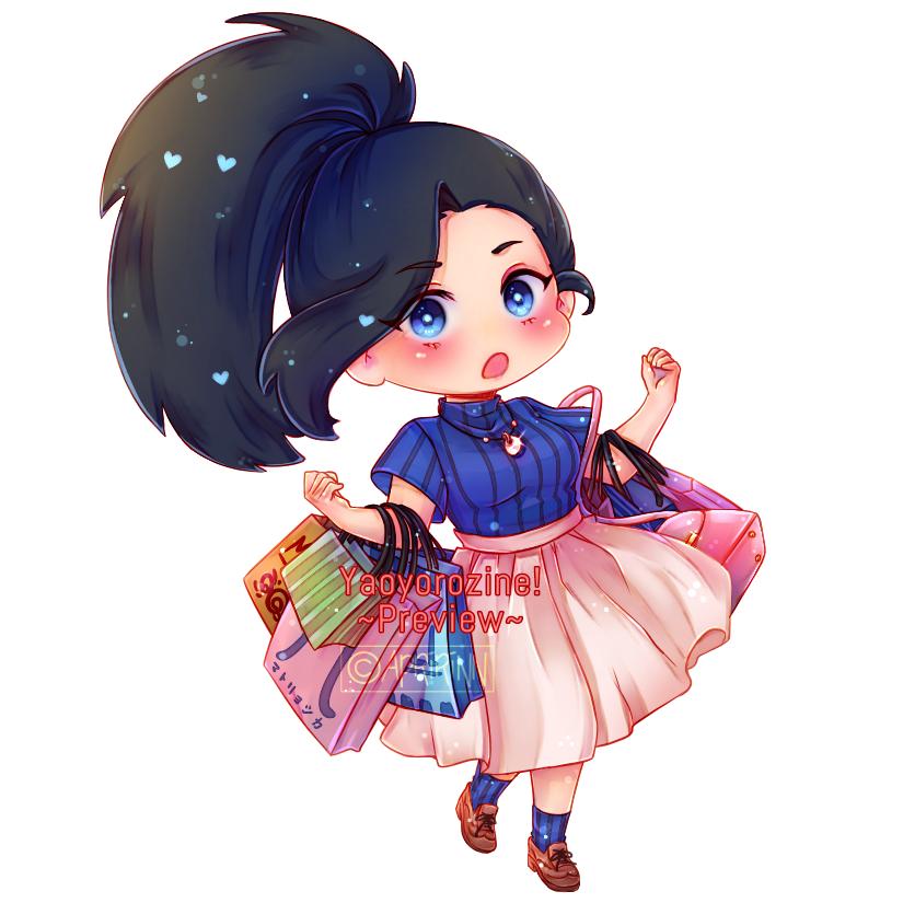 Shopping Momo!