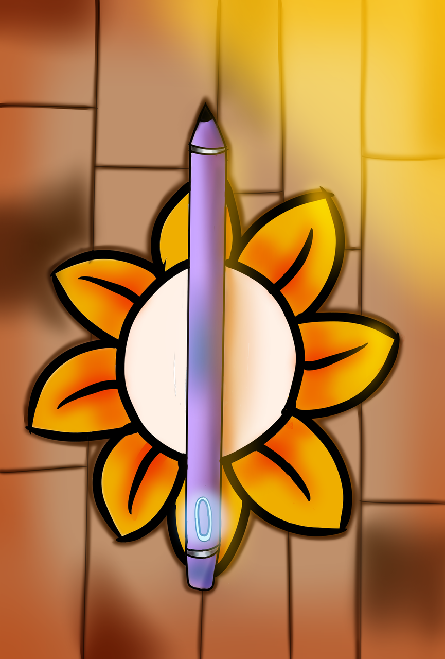 A Digital Art Pen Illust of {Bobà Leàf}🌿 giftyouwant2020 giftyouwant2020:10000YenGift DigitalPen cute flower