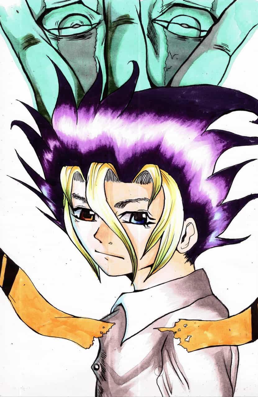 O.c manga art
