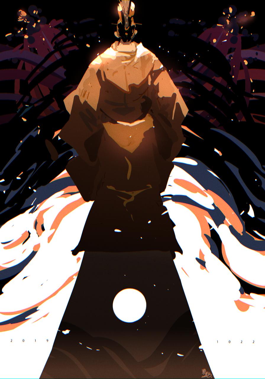 生まれて Illust of 鴉羽 凛燈 medibangpaint 即位礼正殿の儀 Japanese_style 平安装束