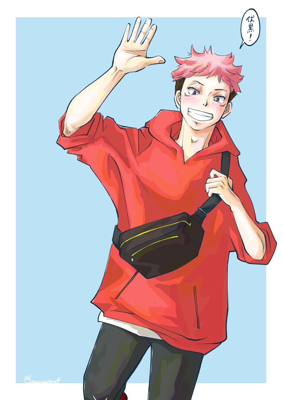待ち合わせ2 Illust of こも Yuji_Itadori fanart ベーコンレタス JujutsuKaisen