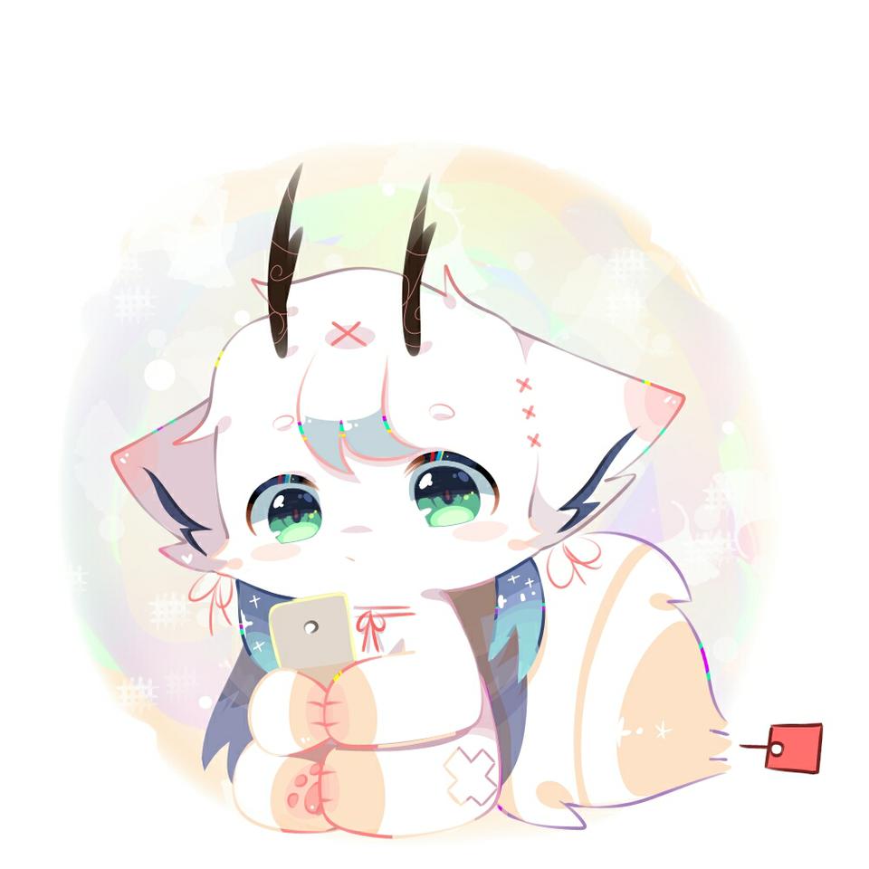 决眠 Illust of Kizuna medibangpaint 原创设计作品 可爱风 兽 动物设