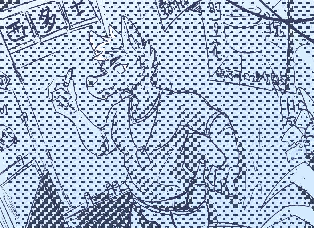 Illust of 肯尼吉 January2021_Contest:OC 獸人 wolf furry