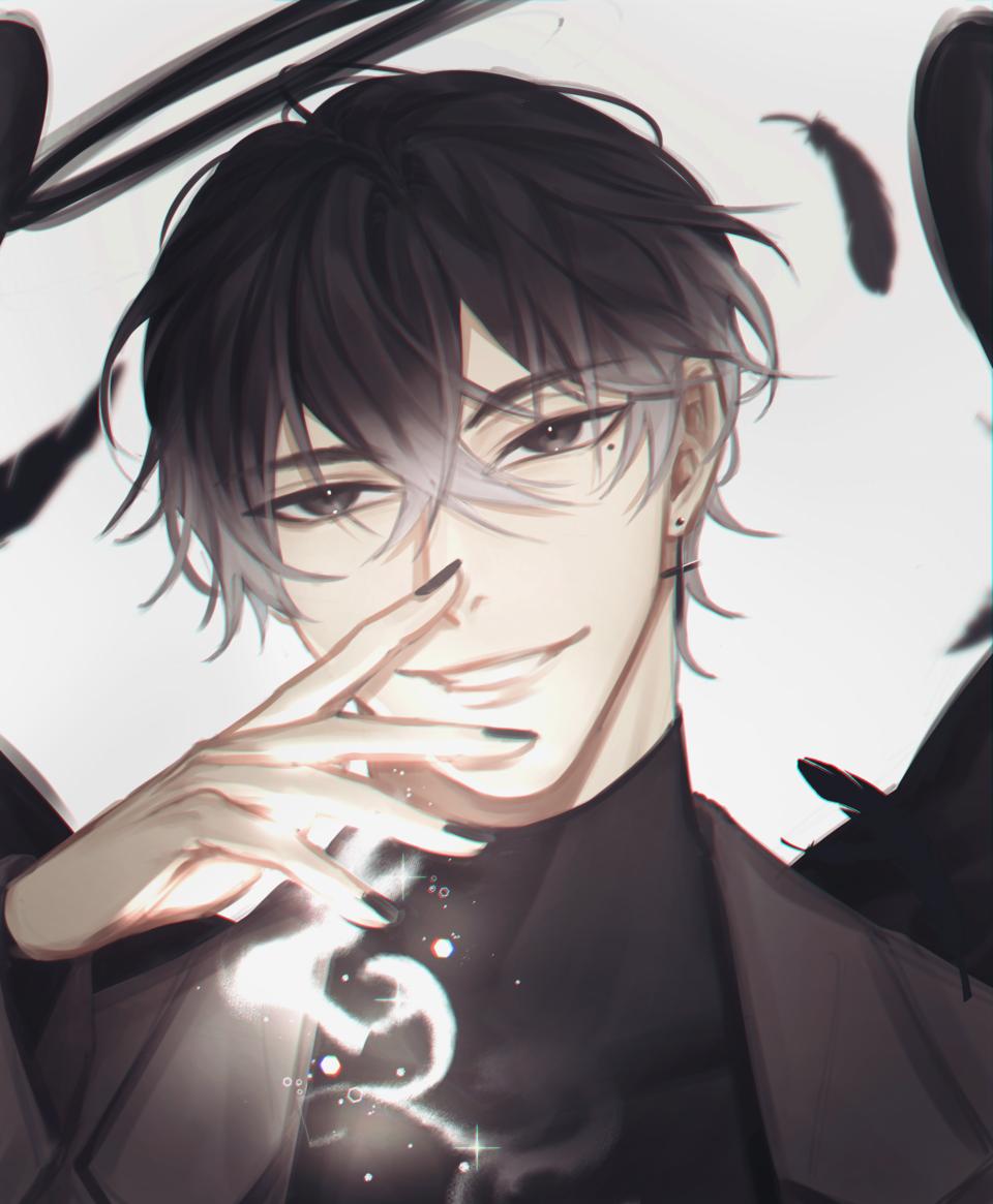남자 Illust of 뇸뇸 wings illustration 남캐 boy