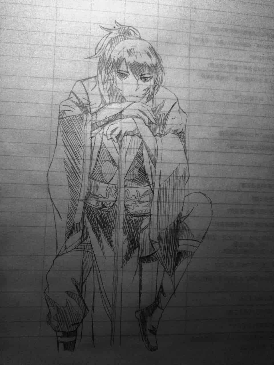 魔道祖師 薛洋 Illust of 御鬼 AnalogDrawing