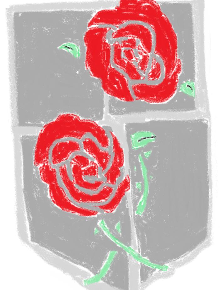 The Garrison Illust of Lokerbomd April2021_Flower fanart AttackonTitan