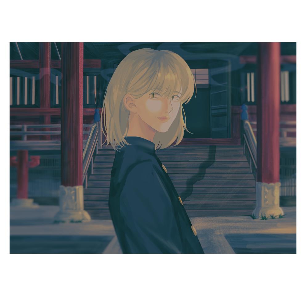 Kawamura Maeda (OC) Illust of Atalia medibangpaint iPad_raffle