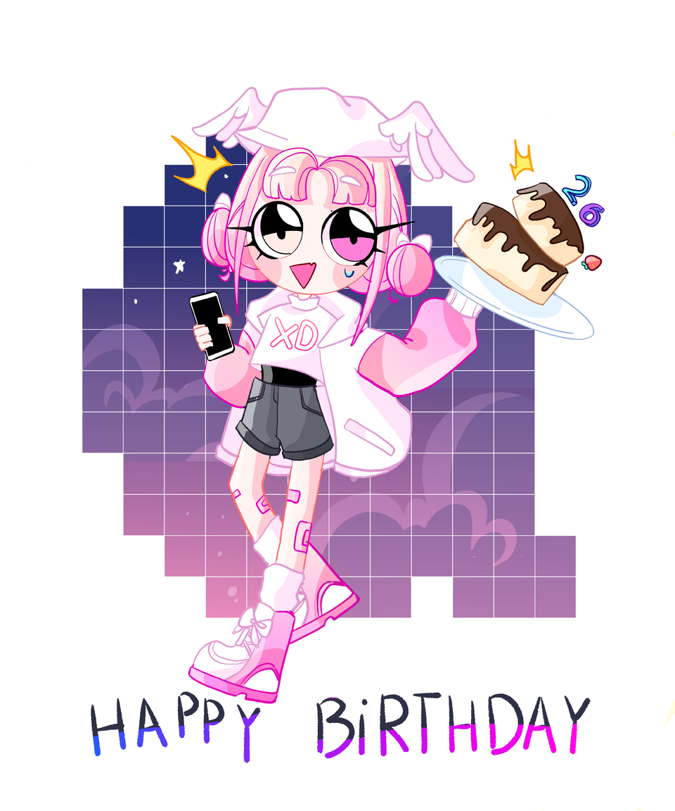 It's my older brother birthday Illust of I'm a GHOST medibangpaint