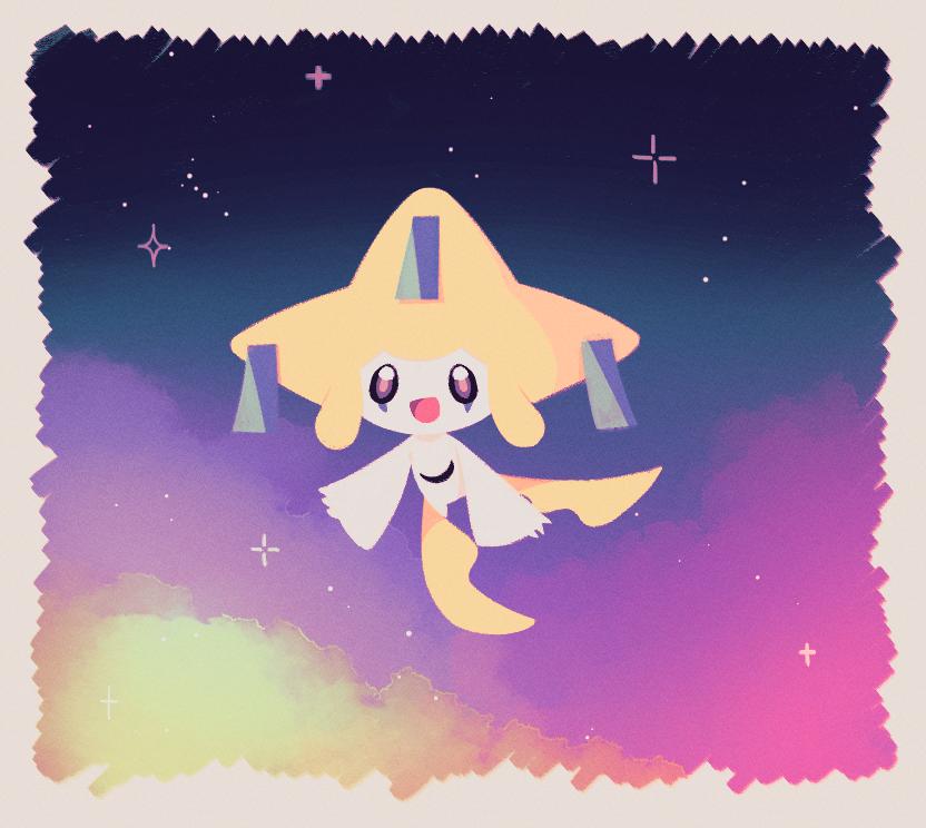지라치 Illust of Ellie🎗 pokemon Jirachi