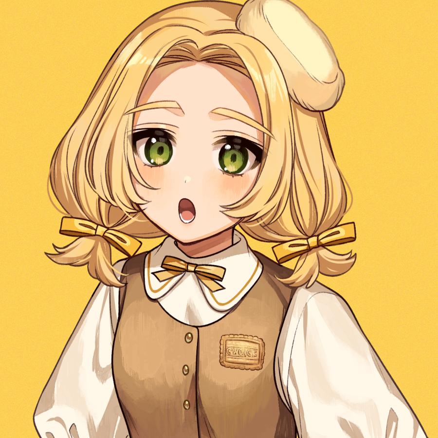 チョイスビスケット Illust of カロクチトセ original Personification characterdesign お菓子