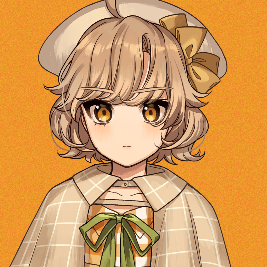 アーモンドクッキー Illust of カロクチトセ original Personification characterdesign お菓子