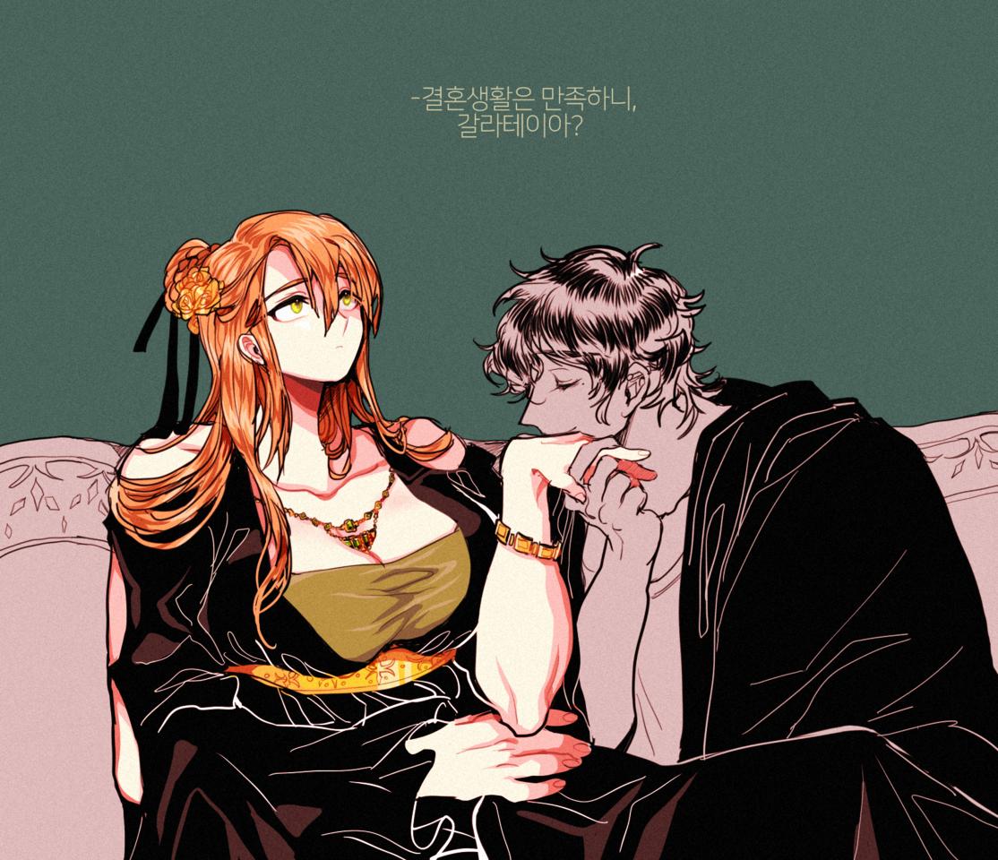 피그말리온과 갈라테이아-무제(OC) Illust of 쫑끼리 oc 자컾