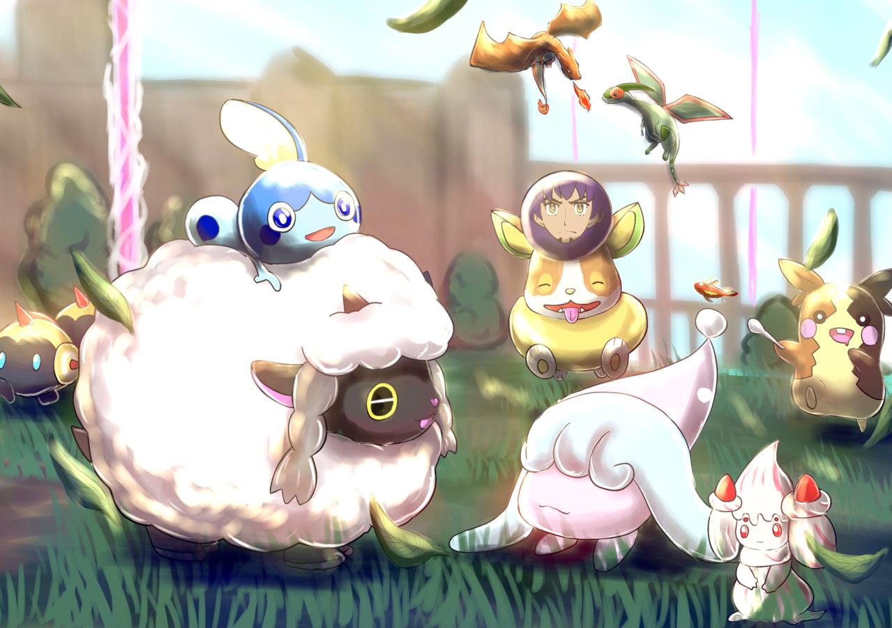 ポケモン剣盾1周年! Illust of 88里 ポケモン剣盾1周年 pokemon PokémonSwordandShield