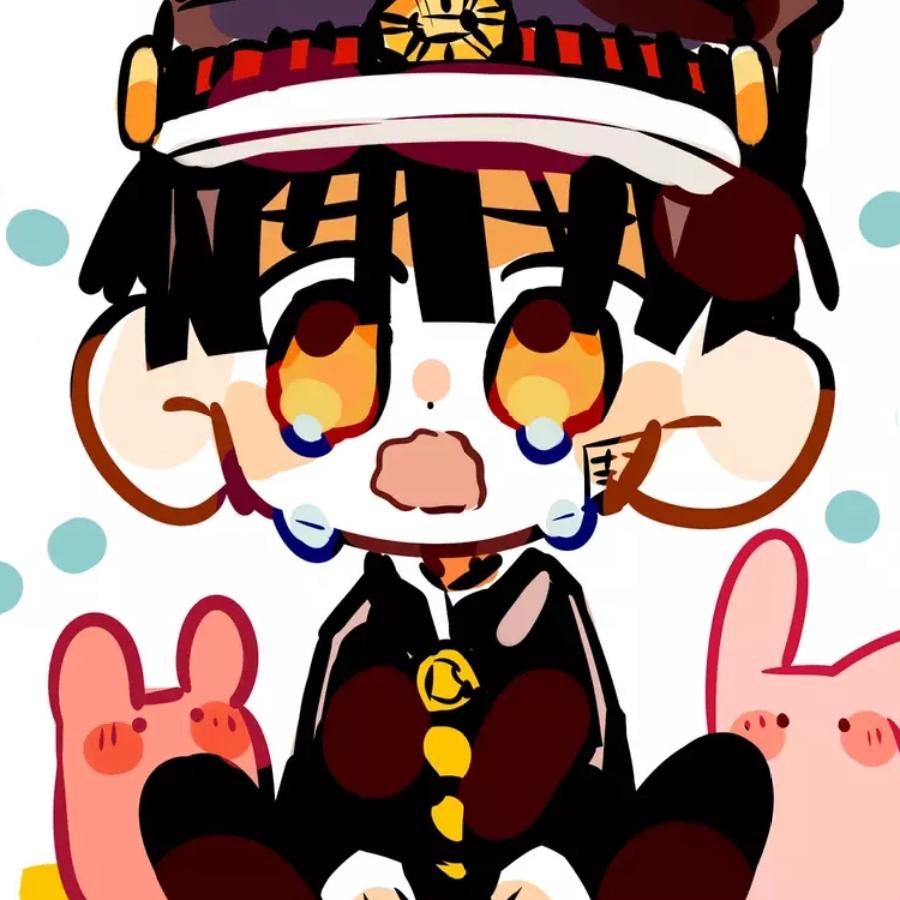 花子♡ Illust of 大白鹅 medibangpaint Toilet-boundHanako-kun