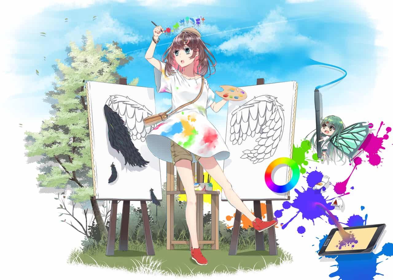 思い描け!! Illust of 丹生きびか Original_Illustration_Contest 絵を描くって楽しい!