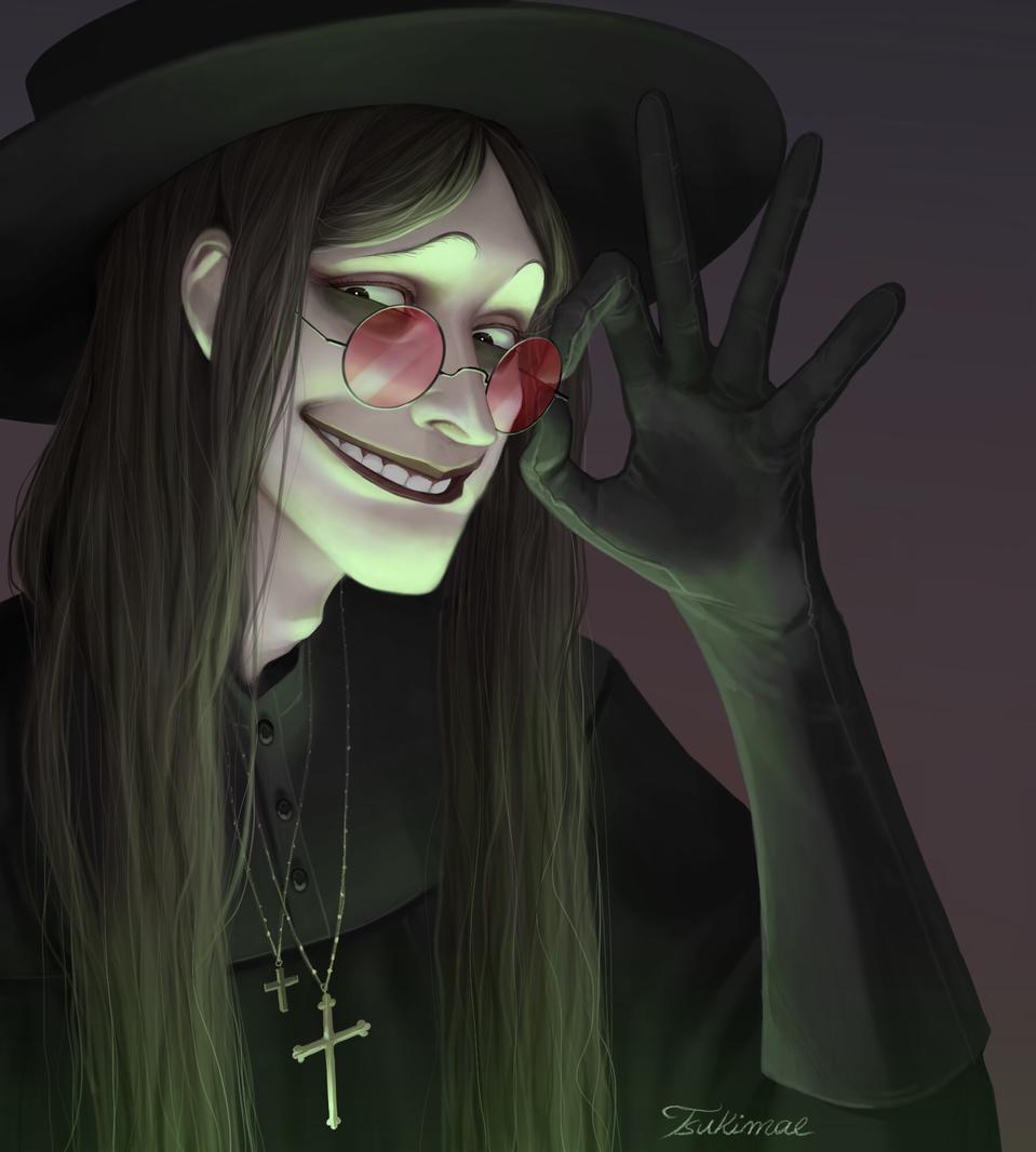 Cornelius ( ͡° ͜ʖ ͡°) Illust of Tsukimae medibangpaint drawing Spooky oc illustration gothic
