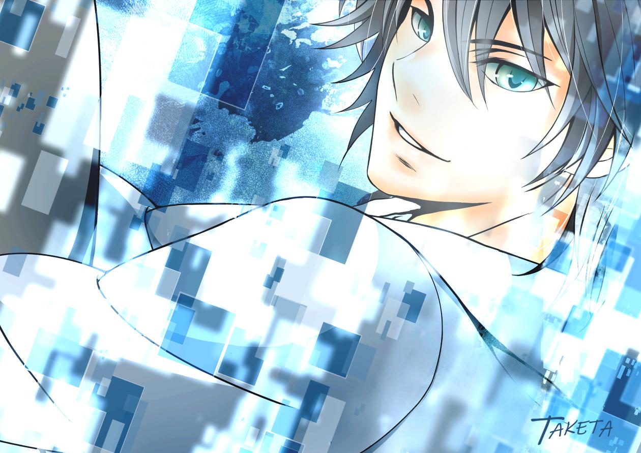 Rewrite Illust of TAKETA original_character イラストレーション オリジナルキャラクター男の子 Fantastic 創作男子 Rewrite bluecollar Cyberspace 創作イラスト
