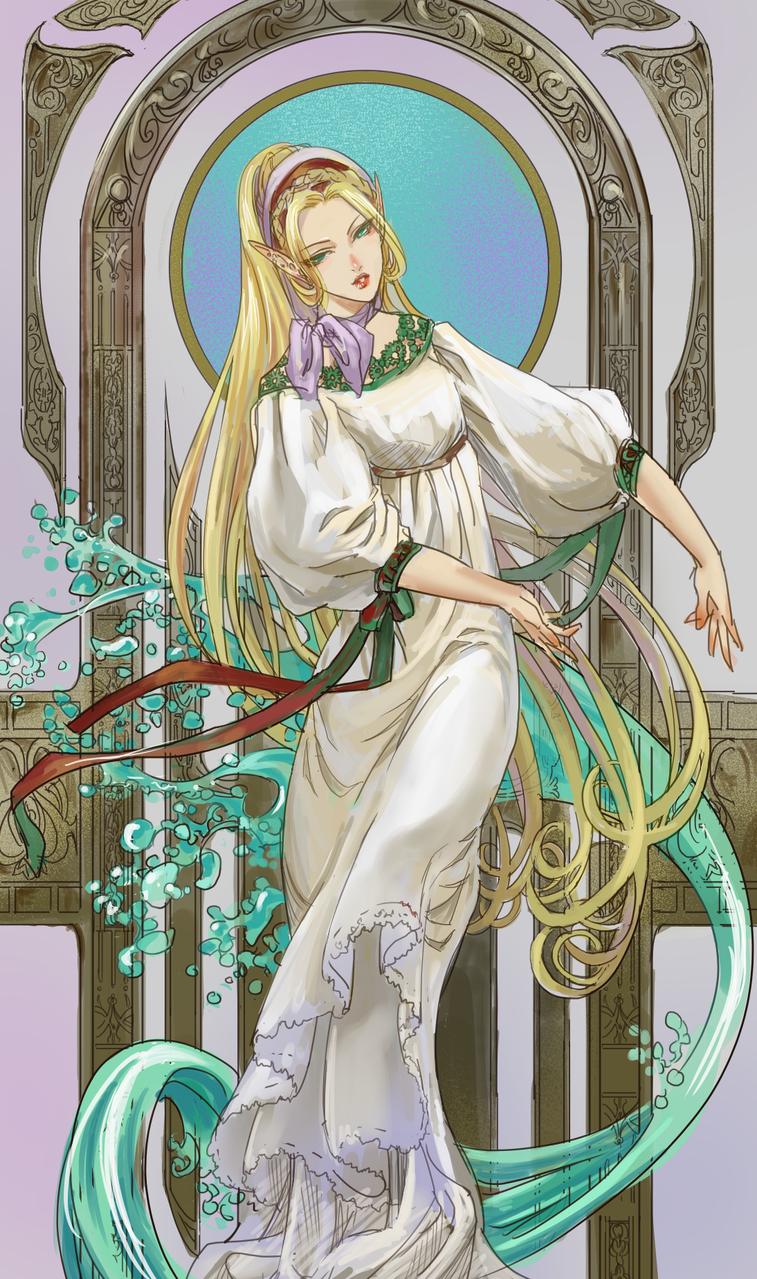 ワンドロ改 Illust of 吾桑 medibangpaint elf