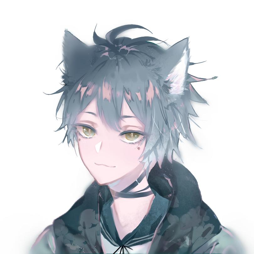 新上色 Illust of 黑磺酸 medibangpaint animal_ears