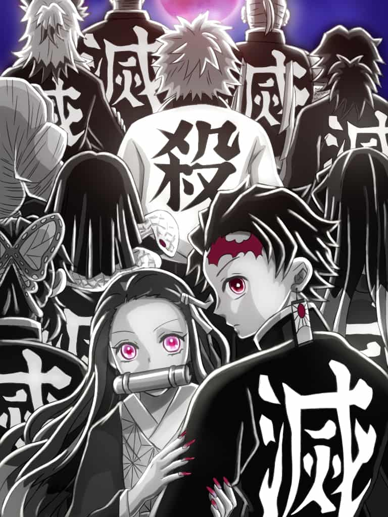 「覚悟」を背負う者達 Illust of 竜胆 DemonSlayerFanartContest KimetsunoYaiba