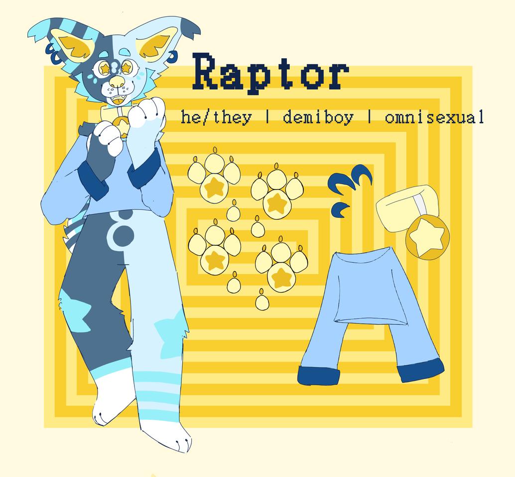 Raptor ref sheet  Illust of ♥ puppii ♥ medibangpaint