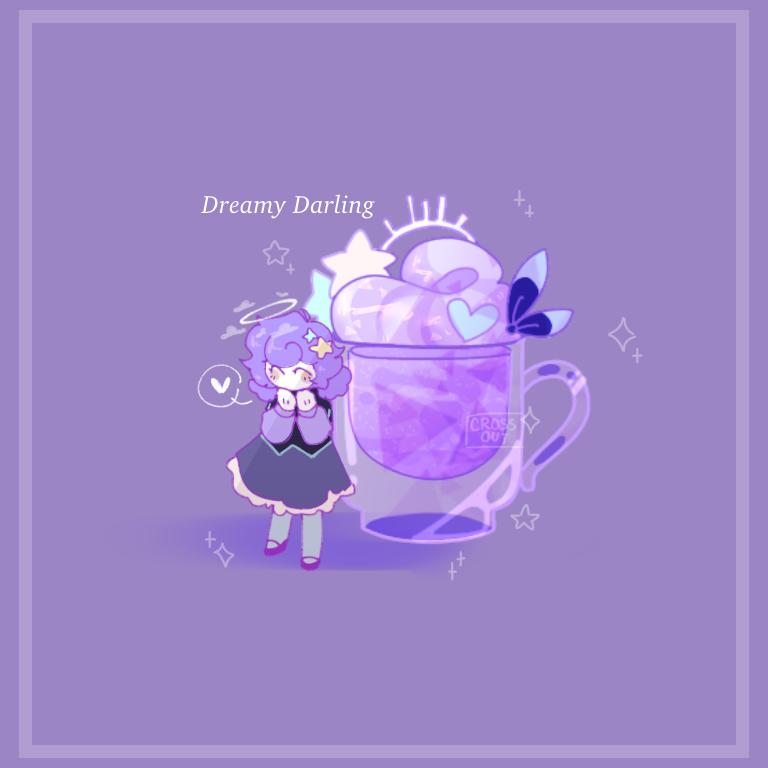 Dreamy Darling Illust of CrossOut drawing oc