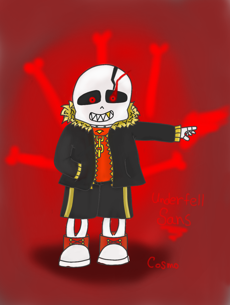 Underfell sans - Cosmo T | Illustrations - ART street by MediBang