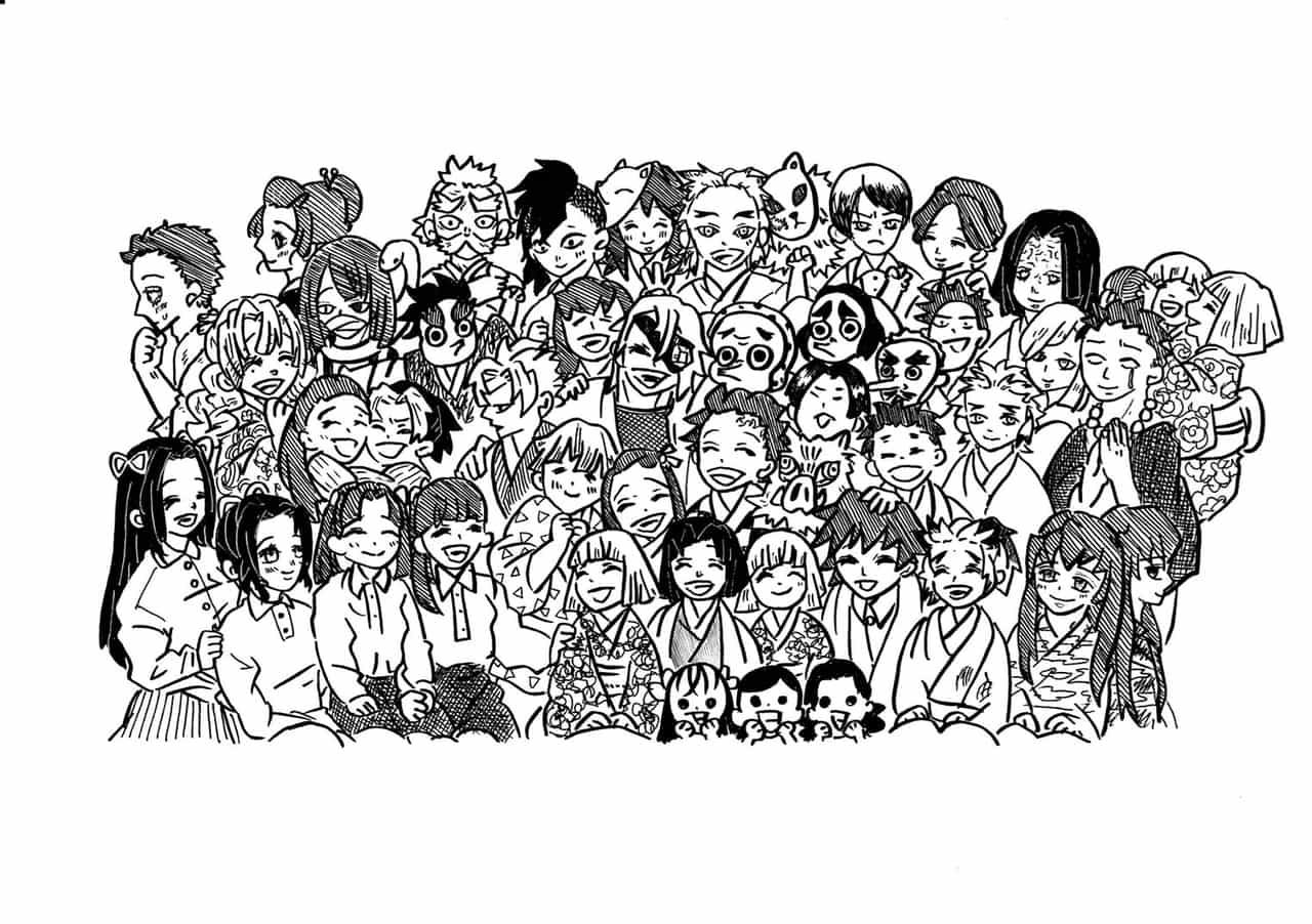 好きなキャラクター大集合バージョン Illust of たかだ DemonSlayerFanartContest KimetsunoYaiba