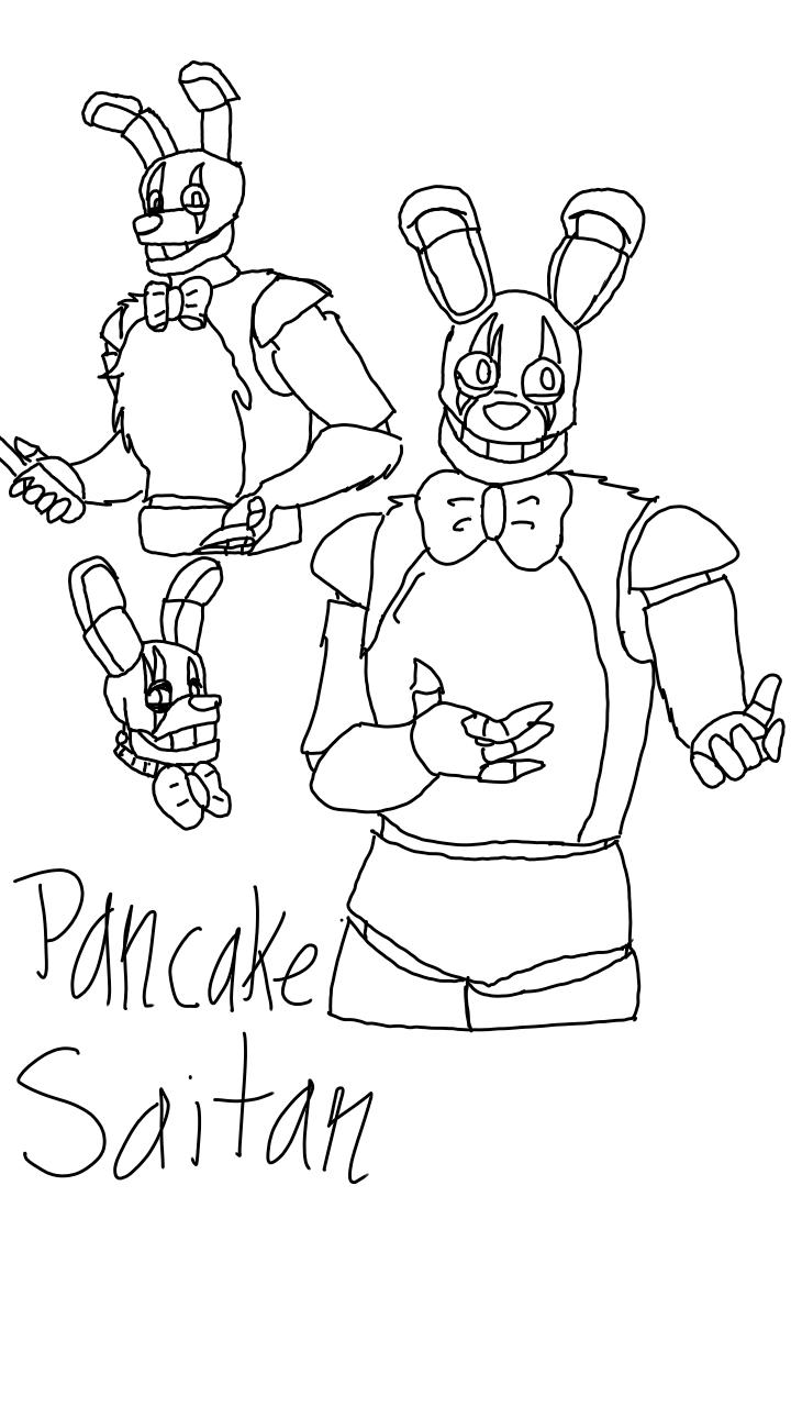 Pancake Saitan