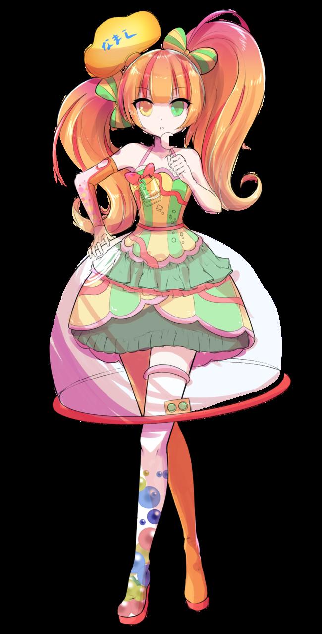 途中経過 Illust of 夢羽 結 illustration Personification kawaii original girl game
