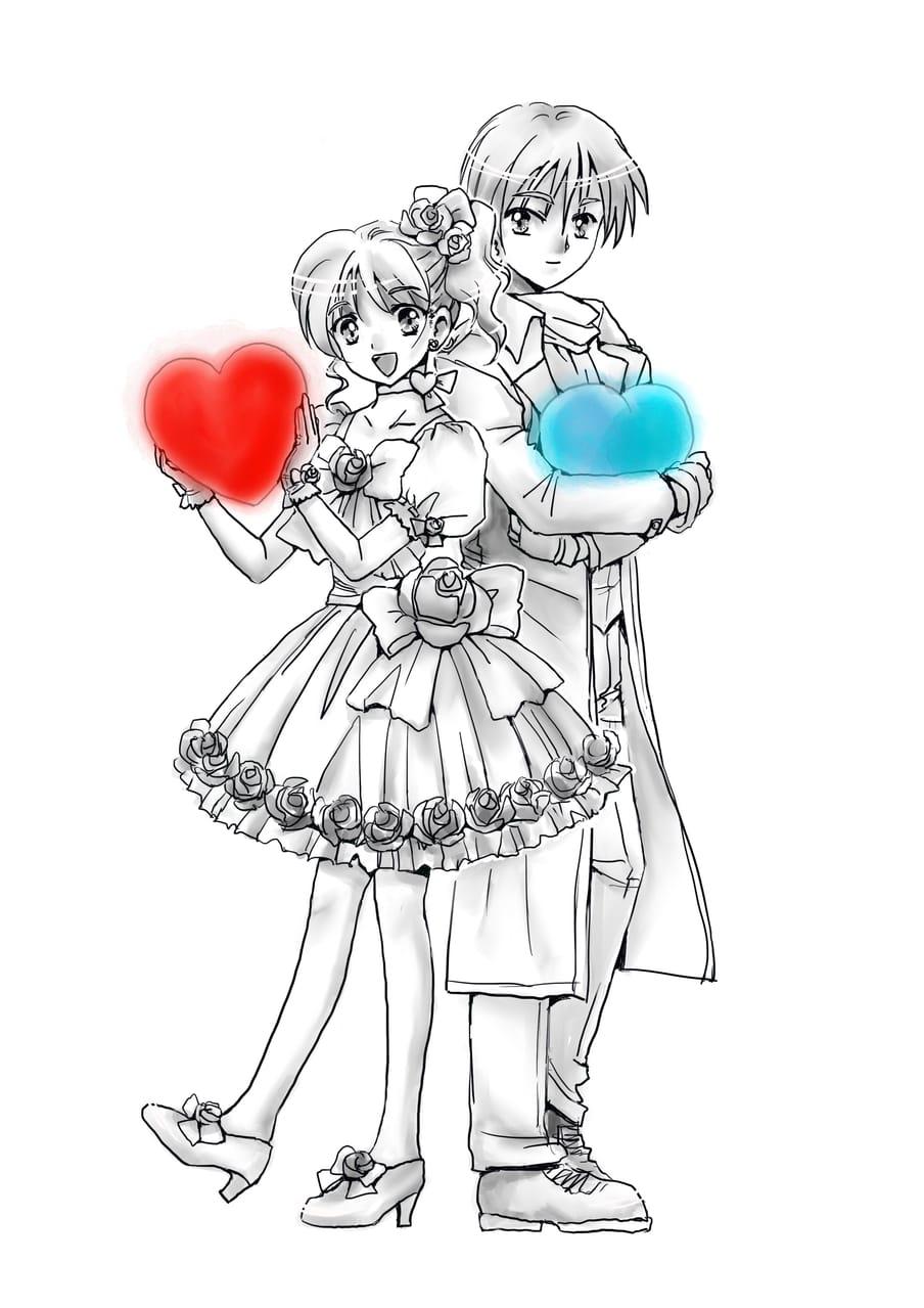 Valentin'sday✖️Whitday Illust of エインセル ValentinesDay ホワイトデー